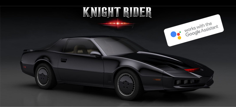 Speak to your car with Google Assistant - almost like K.I.T.T. from Knight Rider