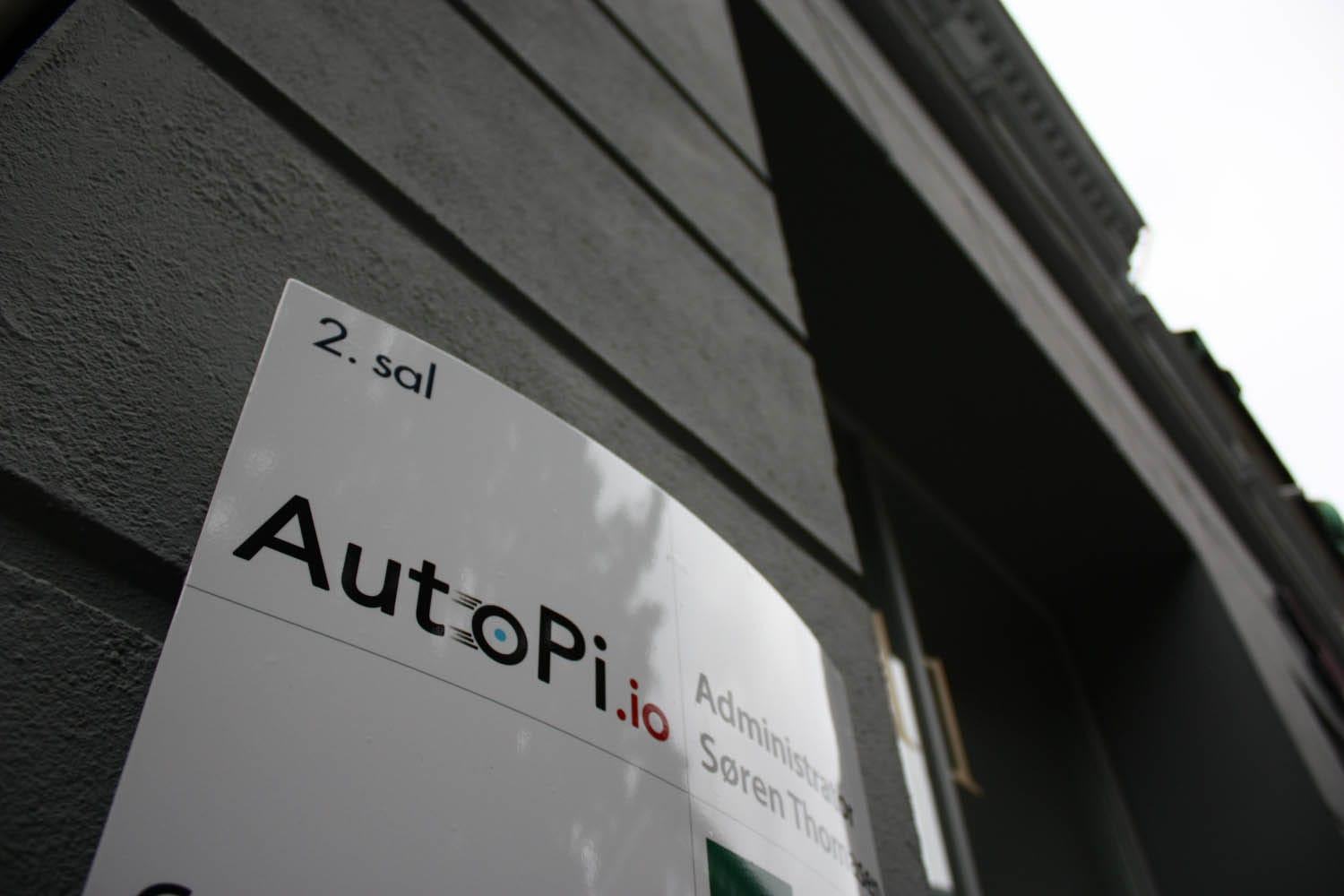 AutoPi.io office entrance